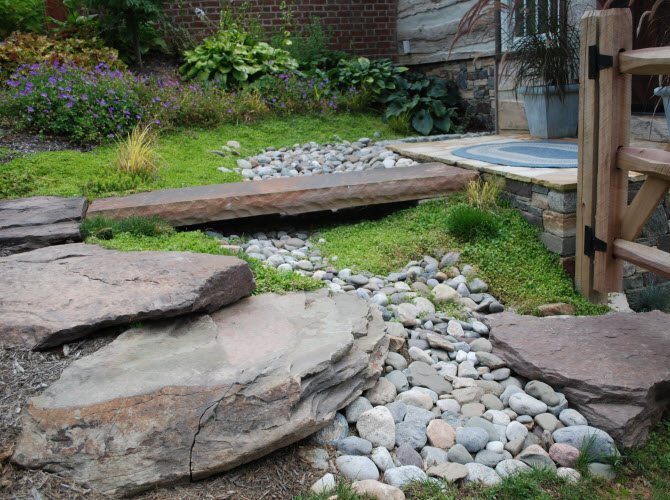 Mullan Nursery Co, Inc | Landscaping & Planting | Growers of Quality Nursery Stock | Baltimore, MD | Baltimore County, MD | Drainage solutions, yard runoff, yard ponding, wet area in yard, wet yard