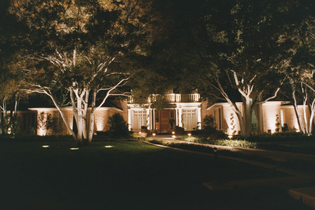 Mullan Nursery Co | Baltimore County, Maryland | Landscape & Hardscape | Outdoor residential commercial LED lighting hub display