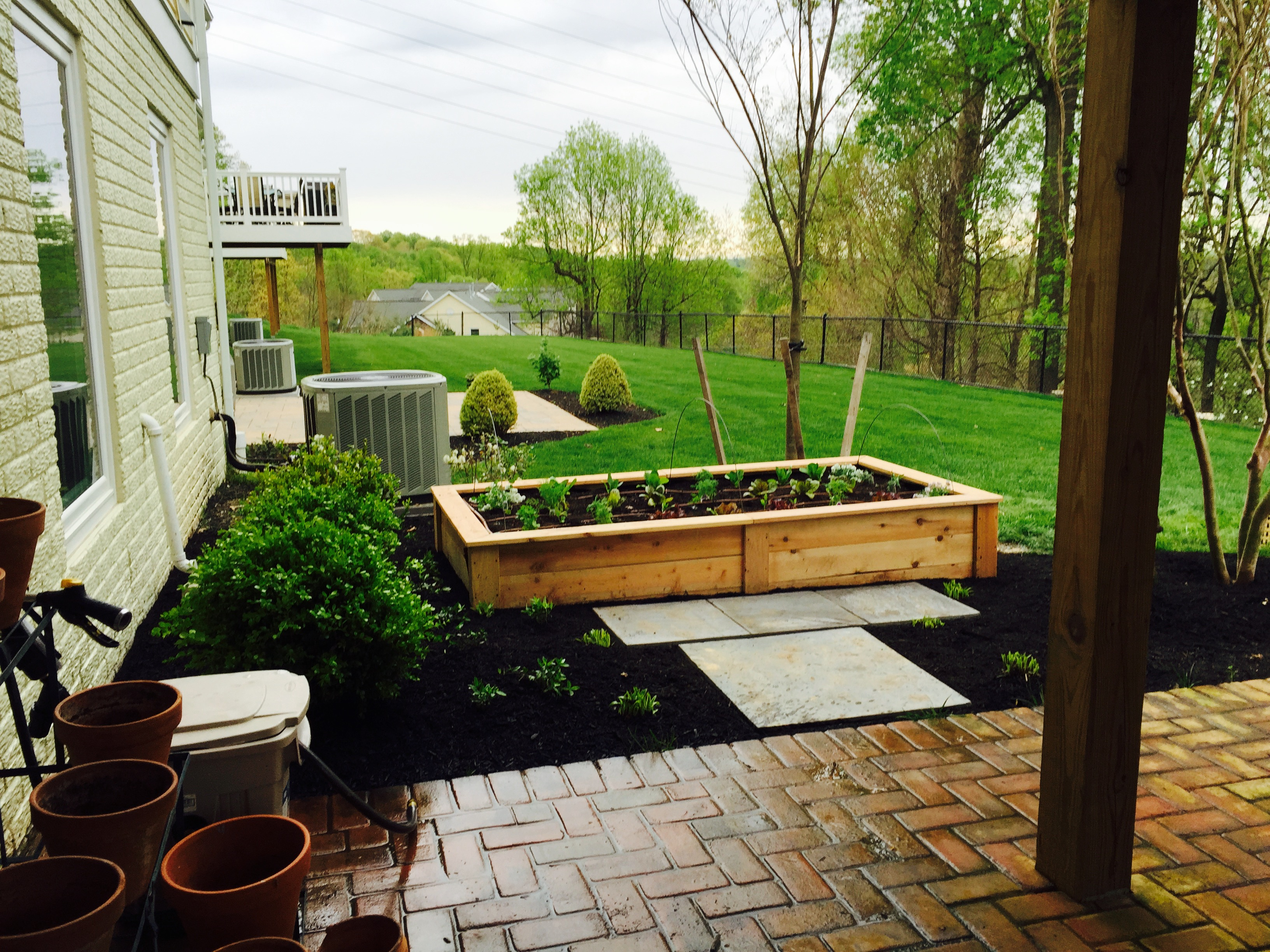 Mullan Nursery Co | Baltimore County, Maryland | Landscape & Hardscape | Kitchen Garden, Vegetable Veggie Gardens, Raised Beds, Organic