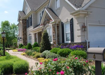 Landscape maintenance of yard, weeding, mulching, spring clean-up